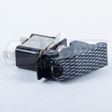 Interruptor On - Off Tipo Carbono Con Tapa Y Luz Para Auto