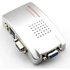 Convesor Transcoder Vga Para S-video Rca Pc Vga P/ Tv Av