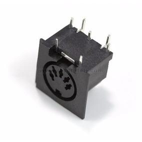 Jak Conector Midi Tipo Dim Pcb 5 Pinos