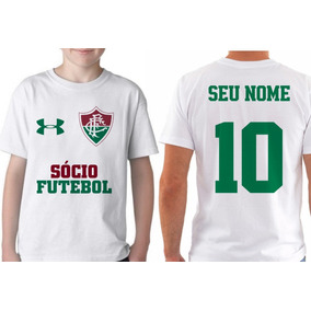 0a3e724139 Camiseta Personalizada Baixada Fluminense Rio De Janeiro - Camisetas ...