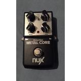 Pedal Guitarra Distorsión Nux Permuto Por Teléfono Inteligen