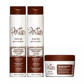 Portier Cacao Uso Diário - Kit Completo (3 Produtos)