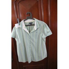 = Roupa Lote 629 Mulher Camisa Social Usa Tommy Hilfiger Xg