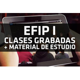 Abogacía Efip I Clases Grabadas + Material De Estudio