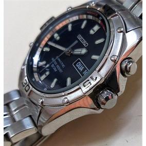 Relogio Seiko Kinetic Mod 5m43 - Relógios Antigos e de Coleção no