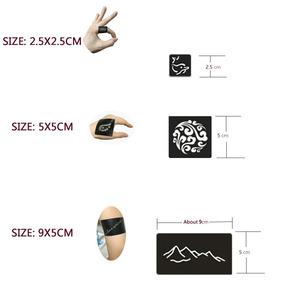 Stencil Adesivo P/ Tattoo, Henna, Aerografia, 312 Unidades