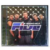 Cd - Five - Invincible - 1999 - Original