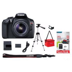 Camara Canon Reflex Rebel T6 Kit + Tripie + Memoria 32gb
