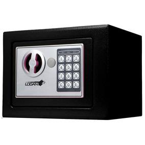 Caja Fuerte Digital Color Negro Incluye Baterías Y Llaves