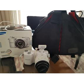 Smart Camera Nx 2000 Sansung Com Case Transporte