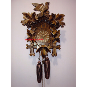 5399 Relógio De Parede Cuco Alemão Floresta Negra Herweg