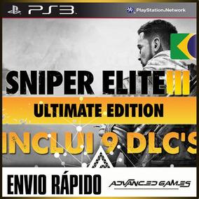Sniper Elite 3 Ultimate Edition Jogo + Dlcs - Jogos Ps3 Psn
