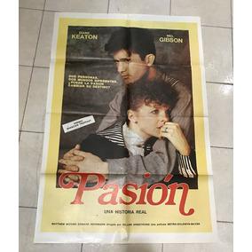 Antiguo Afiche De Cine Original Con Mel Gibson-envios Gratis