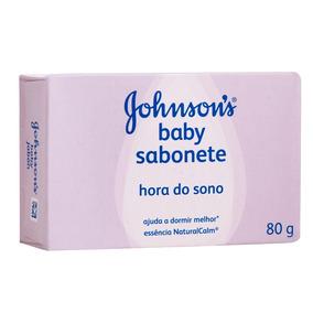 Sabonete Barra Hora Do Sono Johnsons Baby 80g