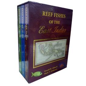 Livro De Peixes - Reef Fishes East Indies - 3 Volumes Caixa!