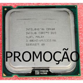 Processador Intel Core 2 Duo E8400 3.00 Ghz Ótimo Desempenho
