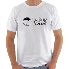 Camisa Masculina Blusas Feminas Umbrella Academy Logo 1078