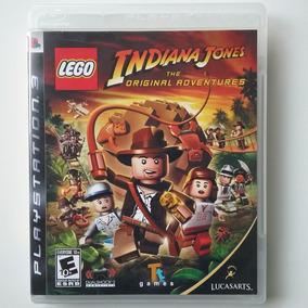Lego Indiana Jones 1 Ps3 Mídia Física Original Perfeito