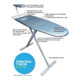 Tabla Planchar Plegable Reforz Oferta Tela Aluminizada 2019