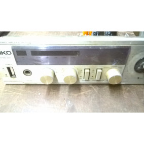Amplificador Aiko Dt-3000-placa E Painel P/ Retirar Peças
