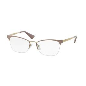 Oculos Prada Dourado - Óculos no Mercado Livre Brasil 263de371be