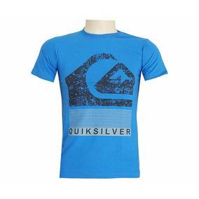 15a9ed4c88 Camisa Quiksilver Azul Claro - Calçados