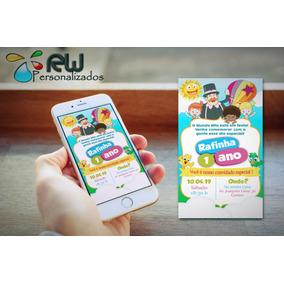 Convite Digital Whastapp Mundo Bita