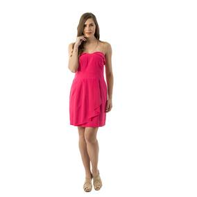 Vestido Bcbg Talla 8 Color Fuccia