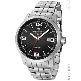 Relógio Magnum Masculino Esportivo Prata Mt30106t