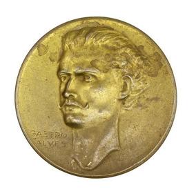 Castro Alves Medalha Comemorativa Centenario