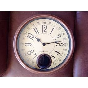 Gran Reloj Pared Chen-star Con Pendulo. Cuarzo. Nuevo. 40cm 524c28b00b9b