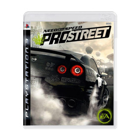 Need For Speed Pro Street Ps3 Mídia Física + Pôster Brinde