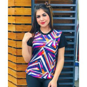 f2e482b15a114 Camiseta Lacoste Feminina Feminino - Calçados, Roupas e Bolsas no ...