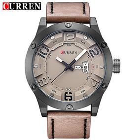 Relógio Masculino Curren Analógico 8251 Coffee