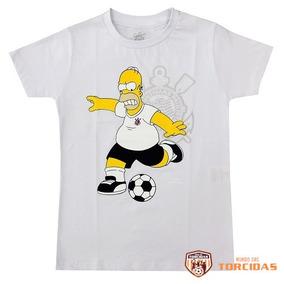 50433ee45d Camisetas Corinthians Simpsons - Camisetas e Blusas no Mercado Livre ...