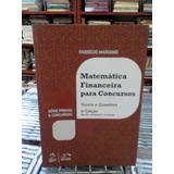Matematica Financeira Para Concursos Fabricio Mariano (cc104