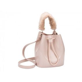 Bolsa Feminina Zaxy Wish Bag Verniz Nude Cd167