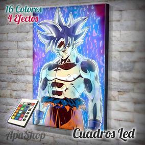 Cuadros Goku Ultra Instinto Animado Cuadros En Mercado Libre Argentina