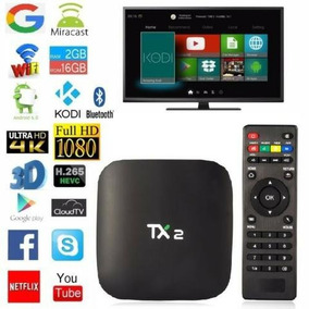 Smart Tv Box Tx2 2gb Ram 16gb Interna Android Full Canales