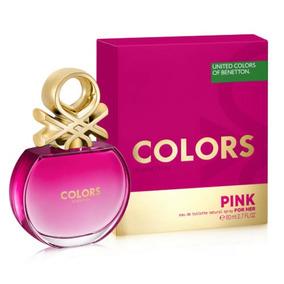 Perfume United Colors Benetton Pink--- 80ml Original --
