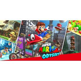 Jogo Do Nintendo Switch Super Mario Odyssey Mídia Física