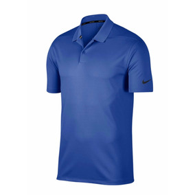 Playera Nike Golf Polo Victory Azul Rey Y Claro-golf Tennis