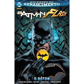 Batman-flash: O Bóton - Capa Dura - Dc Comics