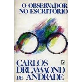Livro O Observador No Escritório Autografado Primeira Edição