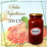 Salsa Napolitana 500cc Fiestas Eventos Comidas Pasabocas