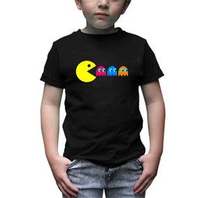 Pacman Playera Infantil Mod3 Envio Gratis