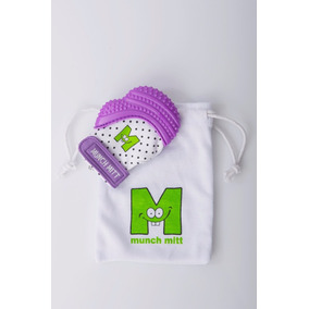 Munch Mitt Guante De Dentición, Mordedera Para Bebé - Morado