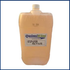 Espuma Activa Con Cera Y Teflon Shampoo Para Autos 20 Litros