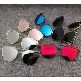 Oculos Reto Na Parte De Cima Sol Dior - Óculos no Mercado Livre Brasil 861e1bf9e1