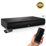 Pyle Tv Soundbar Soundbase Bluetooth - Sistema De Sonido Env